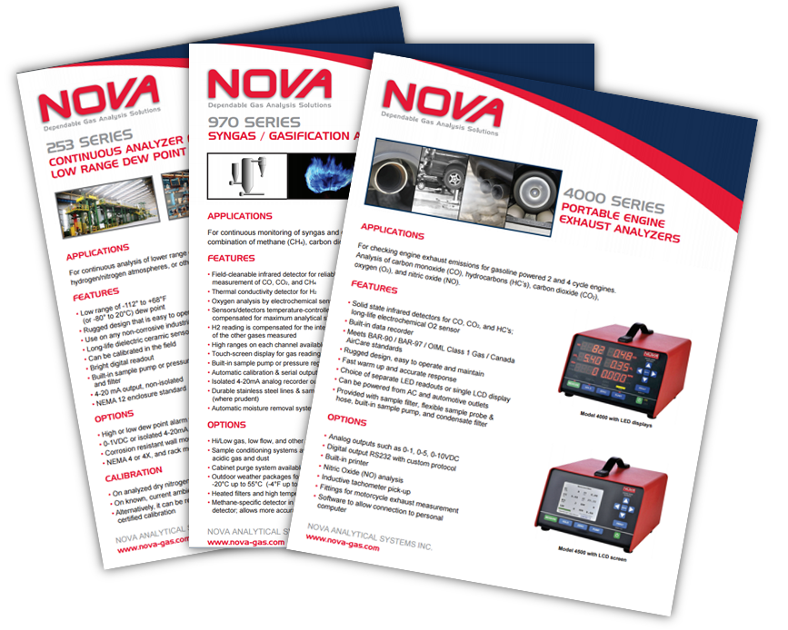 Continuous and Portable Analyzer Brochures